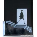 escalier aquarelle Laly