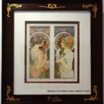 Alphons Mucha - La primevère et la plume